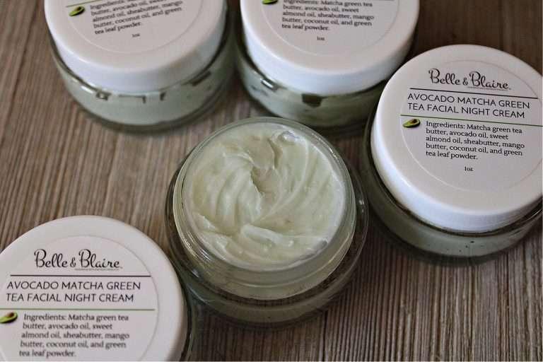 Avocado Matcha Green Tea Facial Night Cream