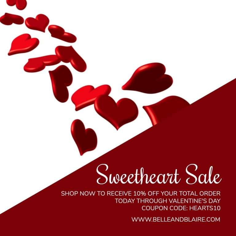 Sweetheart Sale – 10% Off
